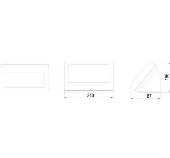 模拟汽车衡仪表-XK3190—D2+