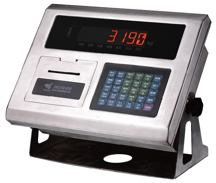 XK3190-DS8数字汽车衡仪表