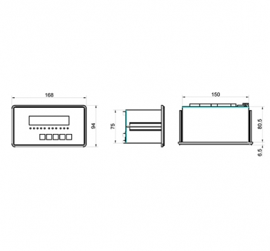 工控仪表-XK3190-C8+